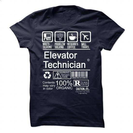 ELEVATOR TECHNICIAN - CERTIFIED JOB - #movie t shirts #silk shirts. PURCHASE NOW => https://www.sunfrog.com/Faith/ELEVATOR-TECHNICIAN--CERTIFIED-JOB.html?60505
