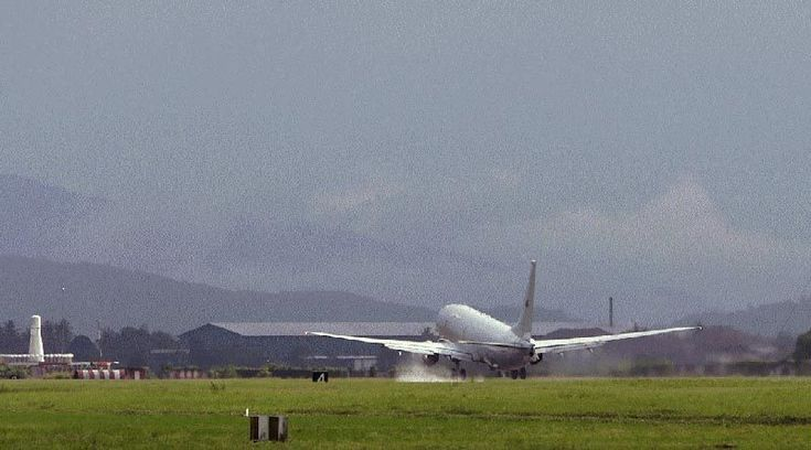 An Australian P-8A Poseidon takes off from Royal Malaysian Air Force Base Butterworth. Photo by Sergeant R Wolterman.