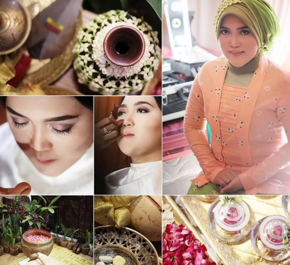 Details  their makeup in the wedding event, make you more magic moments.  Info: 0896-6717-7776 / 0813-9219-8008