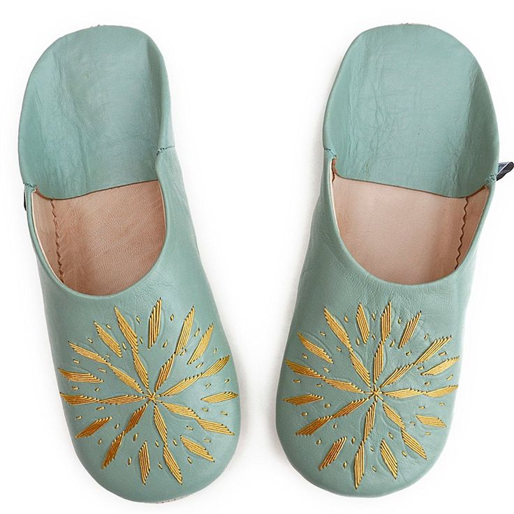 BABOUCHE EMBROIDERY // Dear Morocco // sheepskin slippers >>> Quickly view this special product, click the image : Women's Shoes