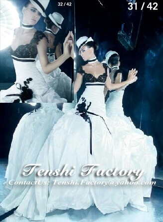 Tenshi factory's wedding dress inspiration 001