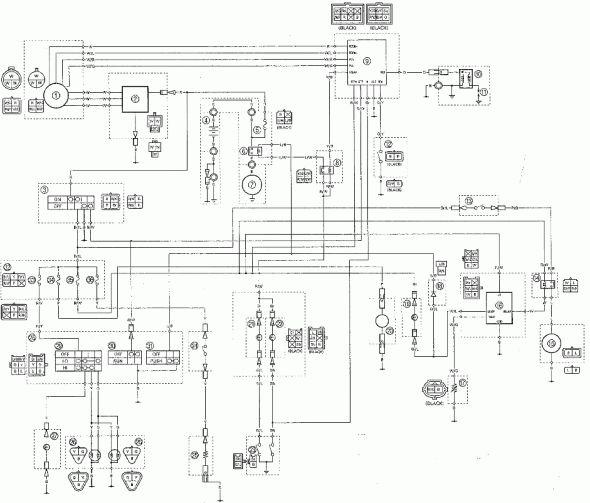 2004 Yamaha Warrior Wiring Diagram 2004 Circuit Diagrams
