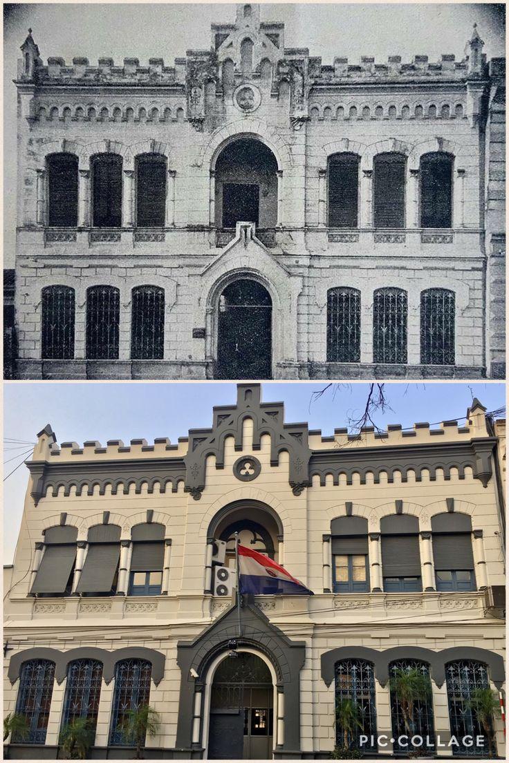Edificio antiguo de Asunción sobre el Paraguayo Independiente