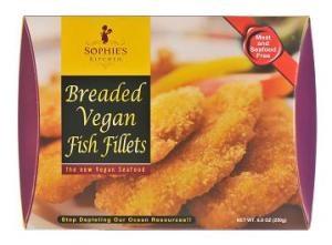Win Sophie's Kitchen vegan seafood via VegTV