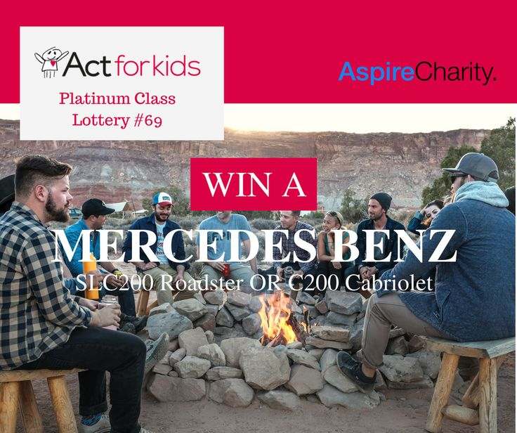 Only 4 days left to appy! Buy tickets now! https://aspirecharitygaming.com/act-for-kids-platinum-clas…/ #charity #actforkids #win