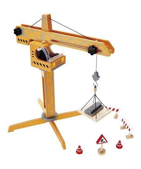 Hape Toys Crane Lift Set | zulily