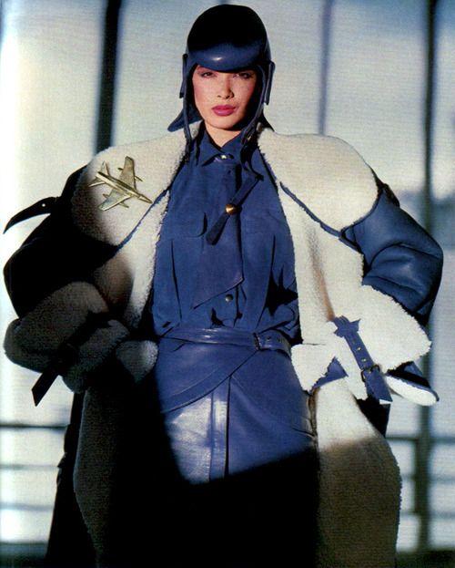 Claude Montana, American Vogue, September 1983.