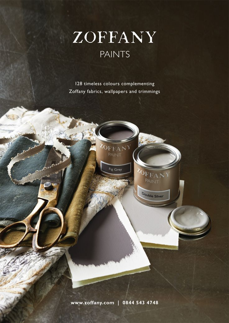 ZOFFANY PAINTS AUTUMN 2013 The Zoffany stylists had fun creating new lifestyle shots with the new paint trend colours for Autumn 2013.