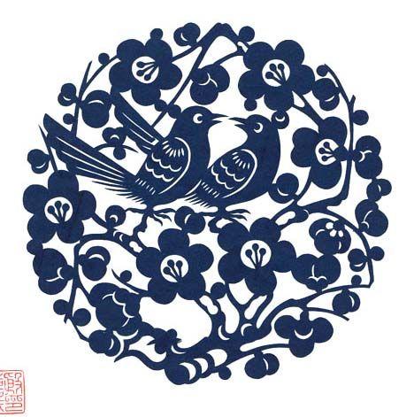 idée : s'inspirer des découpages traditionnels chinois pour un motif de tattoo ?