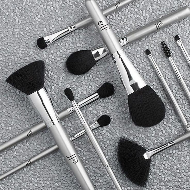 *e.l.f. Makeup Brushes - I have almost all of these, and have multiples for most of them (especially for the eye brushes). For the price, they are fantastic, and will always be my go to for make up tools :)