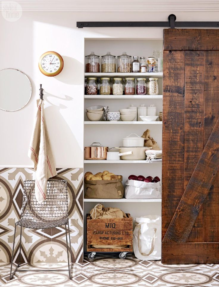 99 best images about organization porn on pinterest for Country kitchen pantry ideas