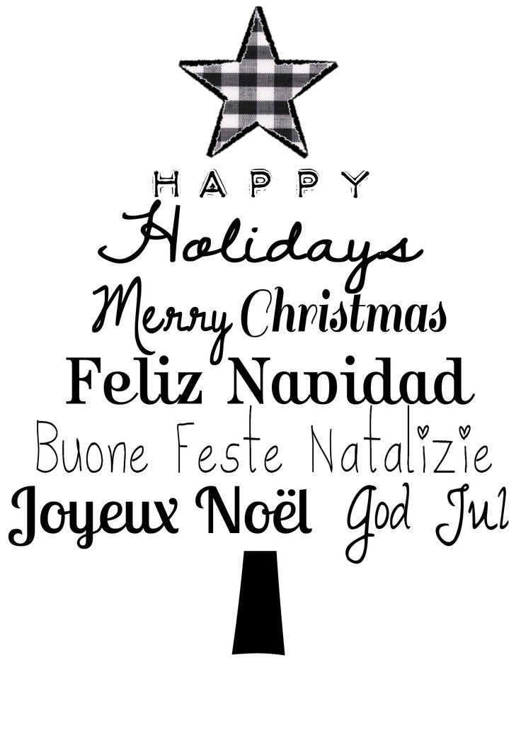 Christmas in all languages