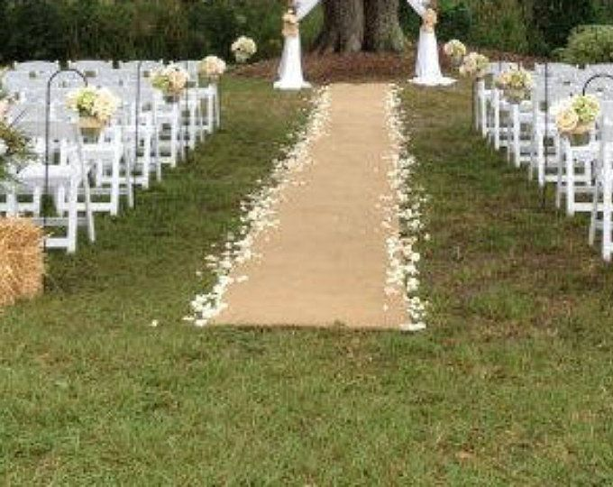 25+ Best Ideas About Burlap Aisle Runners On Pinterest