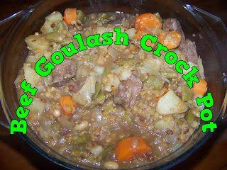 A Pretty Talent Blog: Beef Goulash Crock Pot