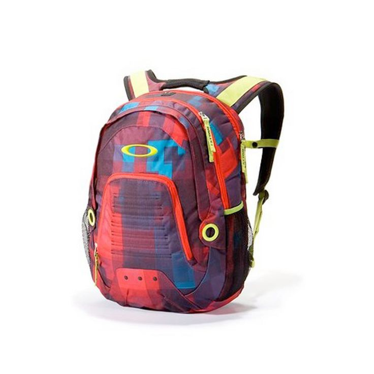 Oakley Flack Backpack Xl - Red Print - 2014 Oakley Casual Clothing - 2014 Motocross Gear - by Oakley - Oakley Flack Backpack