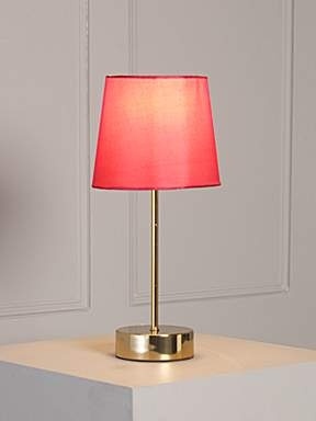 Tilly Cherry And Gold Touch Lamp £ 25.00