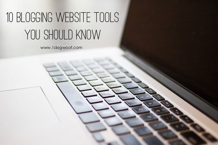 10 Blogging Websites Every Blogger Should Know | www.1dogwoof.com