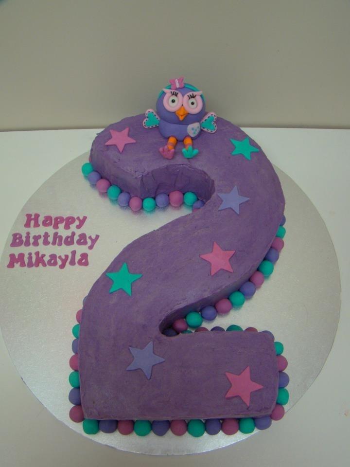 Hootabelle Number 2 Cake by Caketivity Australia