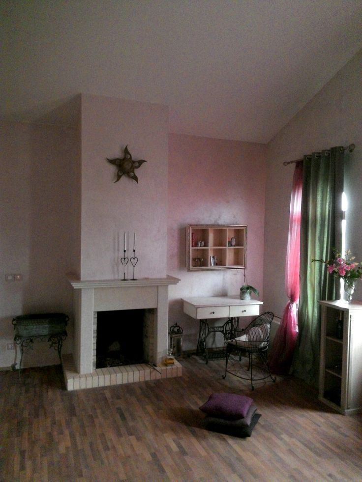 New fireplace in the bedroom, house in Residential Park Teres, interior Bohemia del Arte