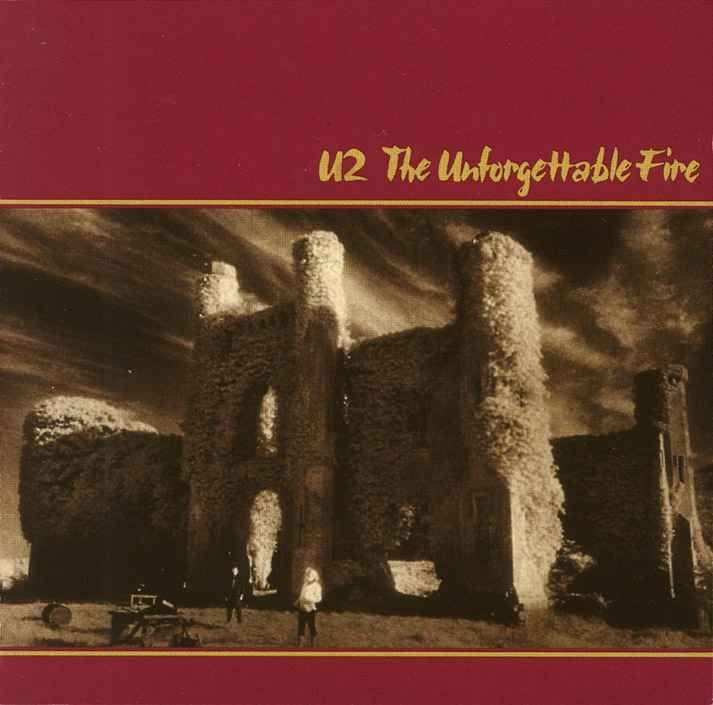 """U2 """"The Unforgettable Fire"""" 1984"""