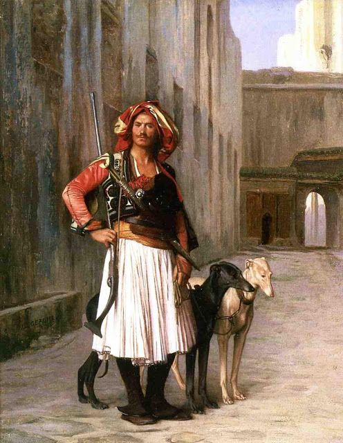 Arnaut from Cairo - painting by Jean León Gérome