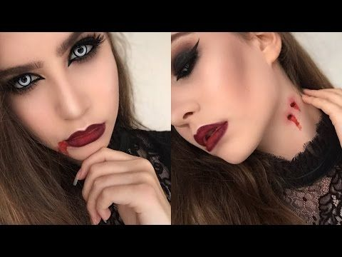 Quick and Easy Vampire Halloween Makeup Tutorial | Using Regular Makeup | Halloween Series 2015 #2 - http://47beauty.com/quick-and-easy-vampire-halloween-makeup-tutorial-using-regular-makeup-halloween-series-2015-2/    				  Join Avon : Make Money & Save Big  Hi guys! So its getting nearer Halloween and I wanted to show you something quick and easy that you can replicate using products you probably have lying around at home…and a little fake blood! This is not my