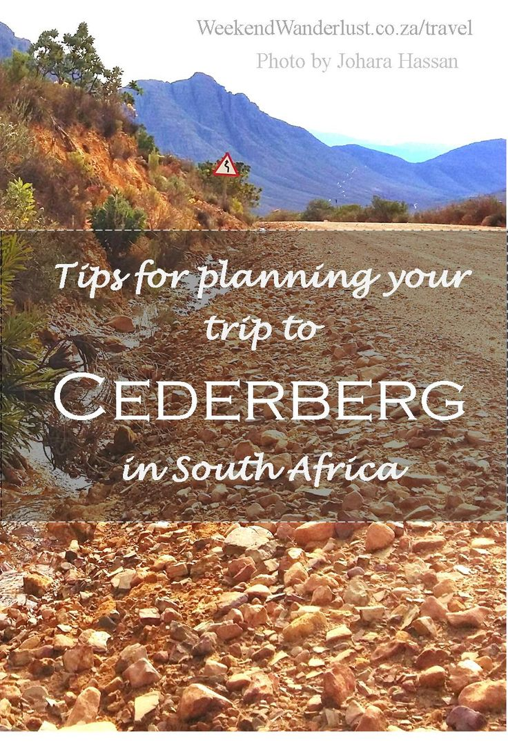 Get some useful tips, tricks and advice for planning your trip to Cederberg in South Africa