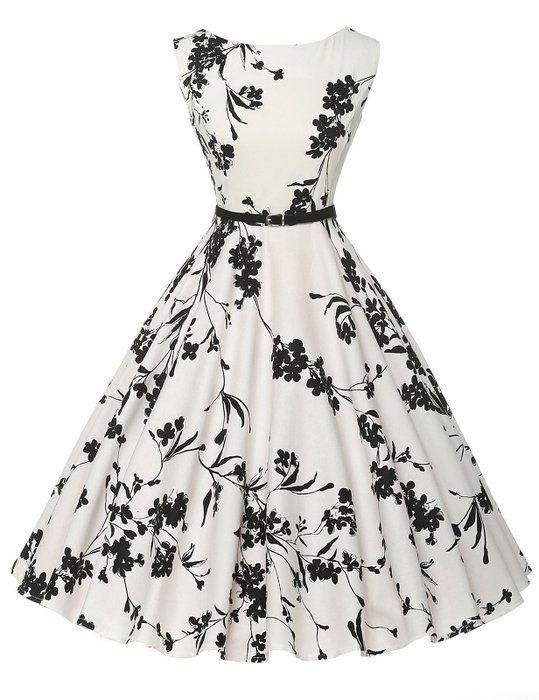 Swing Vintage Dress Mini Ball Dress Sleeveless Size 2XL F-11