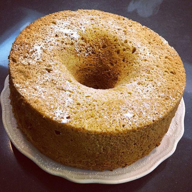 SaraDafne: CHIFFON CAKE INTEGRALE CON ZUCCHERO DI CANNA BIO