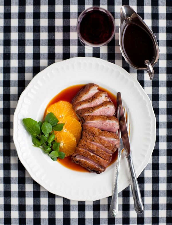Our food editor Nikki makes crispy duck breast with orange sauce... To watch her make it click the image.