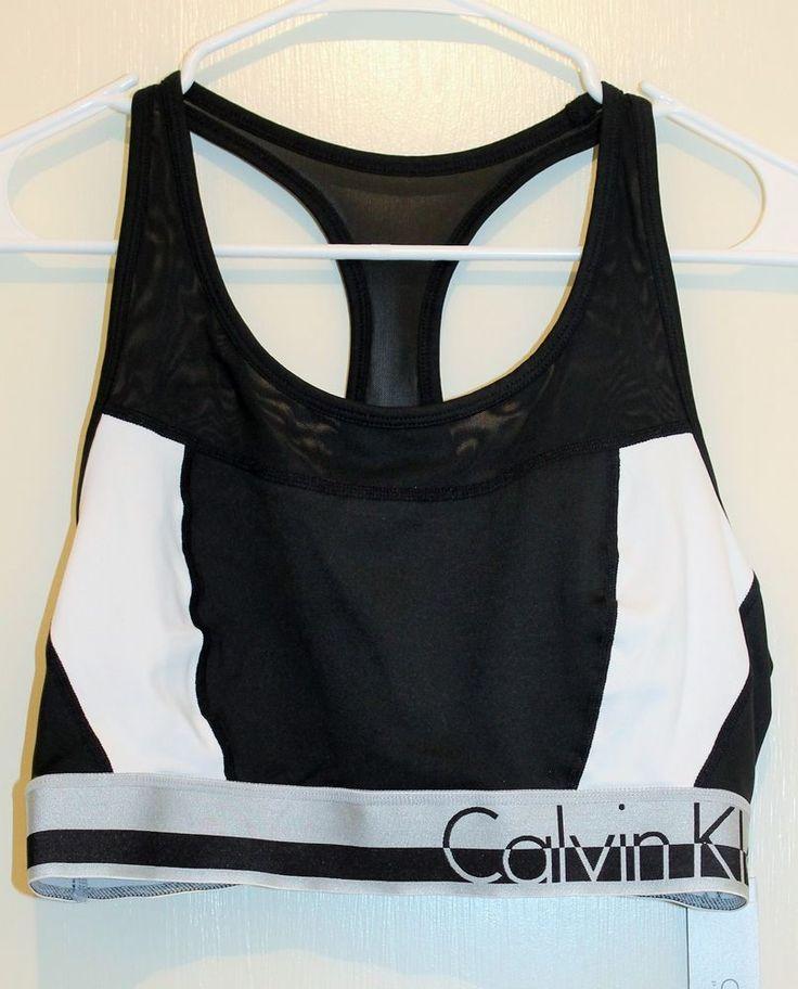 New with tags plus size Calvin Klein sports bra. nwt