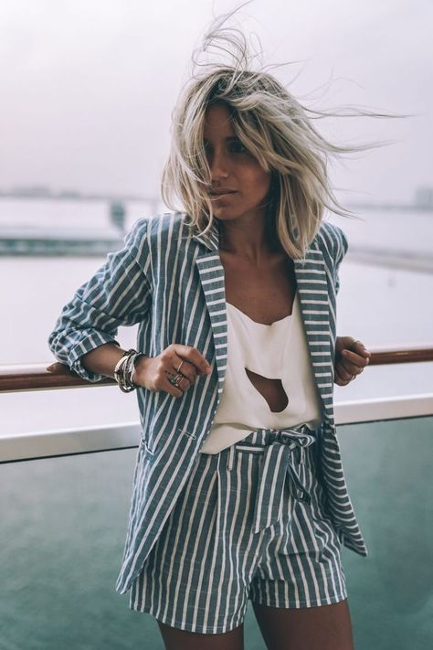 easy breezy linen stripes