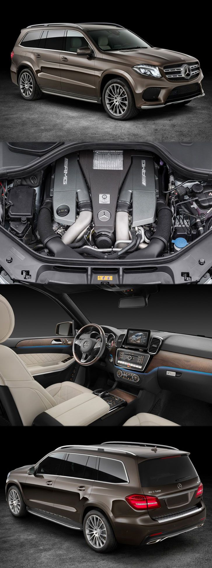 The 2017 #Mercedes #Benz #GLS With Nine-Speed #Gearbox Get more detail at: http://www.enginecompare.co.uk/blog/category/mercedes-benz/