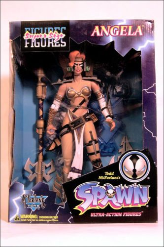 Comic Superhero Action Figure Angela Spawn Character | eBay