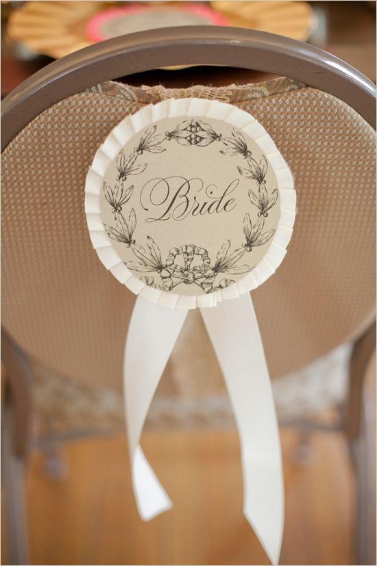 horse themed bride chair sign http://www.weddingchicks.com/2013/09/12/equestrian-wedding-templates/