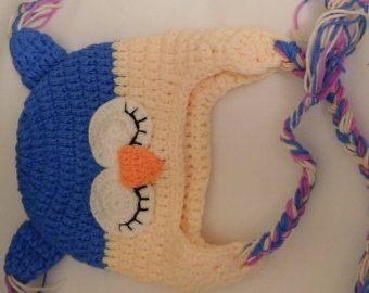 Bebé calcetín mono orejeras gorro y pañal por WarmFuzzyBoutique