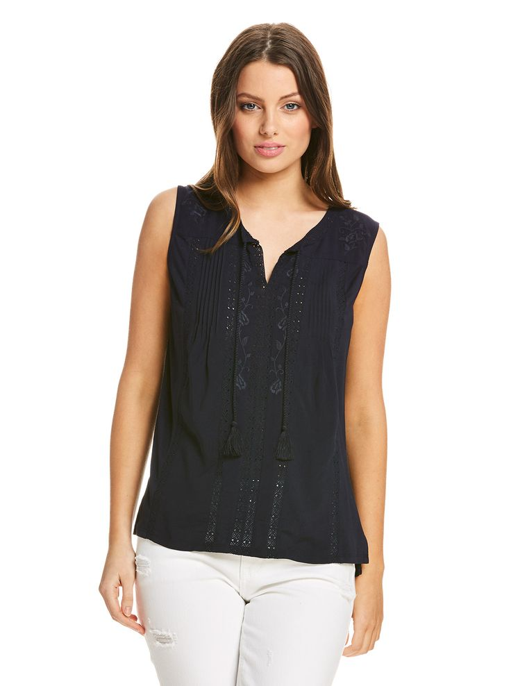 Carmel Embroidered Top   Just Jeans