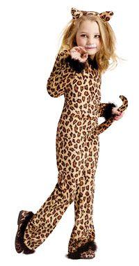 Pretty Leopard Girls Costume - Cat Costumes