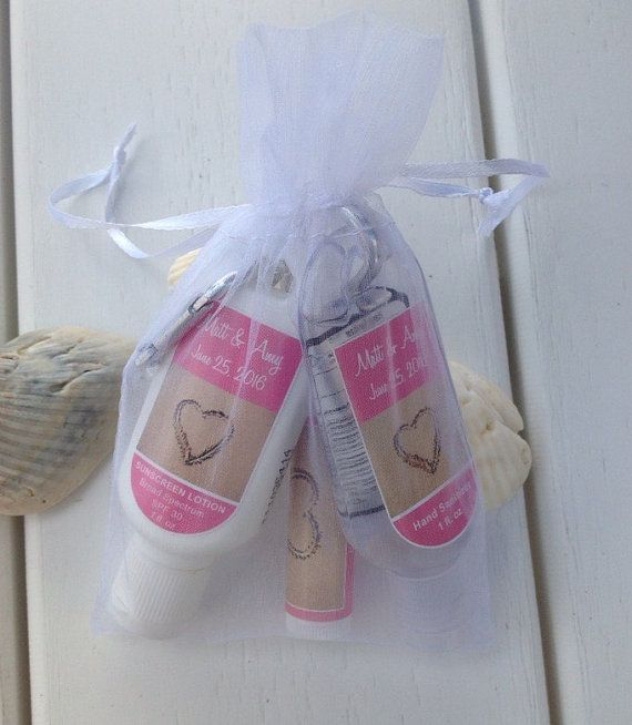 Organza Bags White Mesh Gift Bags Favor Add-On by EventGalDecals