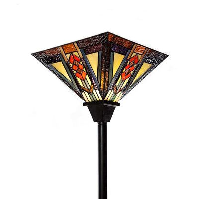 "River of Goods Southwestern Torchiere 70"" Floor Lamp"