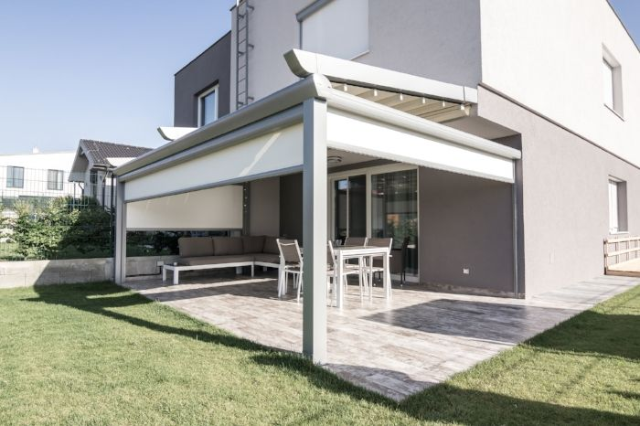 Pergola Zipscreen Shade Blind Motorized Jpg Pergola Plans Pergola Canopy Pergola Designs