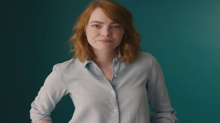 Emma Stone Social project «Vote Your Future» in honor of the presidentia...