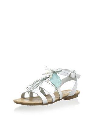 65% OFF Ciao Bimbi Kid's T-Strap Sandal (Tom3583/06 Bianco)