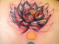 ... on Pinterest | Watercolor tattoos Disney watercolor tattoo and Lotus