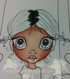 ProMarker and Flexmarker Colouring Tutorial on Saturated Canary Digi Stamp
