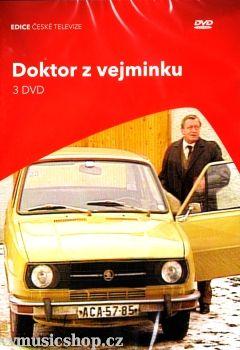 Filmy České televize Doktor z vejminku na 3 DVD z Edice České televize.