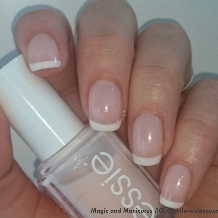 Essie French Manicure