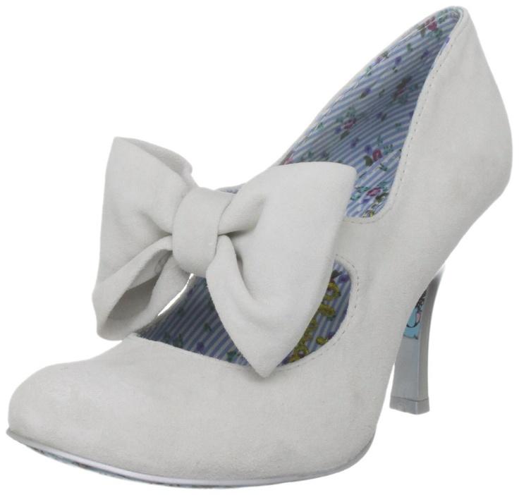Irregular Choice Windsor Mary Janes - my perfect wedding shoe!