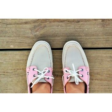 ♦ pink sailor shoes ..