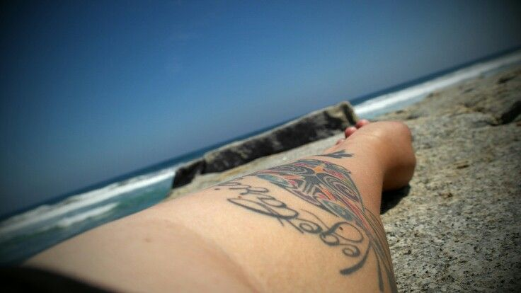 Tattoo. Tatuaje. Playa.